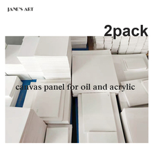 Drawing Painting Board 2Pack Practice Sketchpad Canvas Panel Blank 100% Cotton With Many Other Sizes