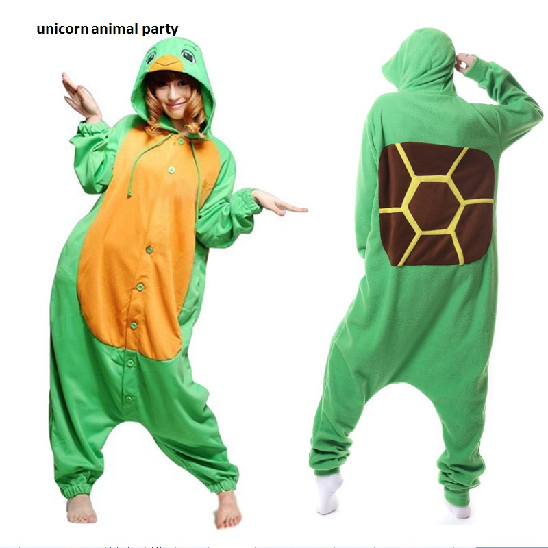 Kigurumi costume de Halloween pijamale Unisex Animal Cosplay Sea Turtle Costum Onesies Pijamale petrecere pijamale