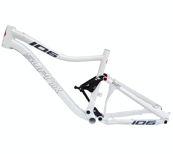 Last Full Suspension Aluminium frame Alloy MTB Mountain DH Cycling Bicycle Frame 26/27.5er*17 15.5 inch Downhill Bicycle Part 1