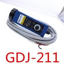 Fotoelektrik göz GDJ 211 GDJ211BG renk İşaretleyici sensörü
