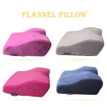 Professional Eyelash Extension Pillow,Soft Fannel Pillow for Lashes Extension,Curved Design Good Health
