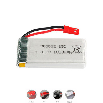 3.7v 1800mAh lipo Battery for HQ859B HQ898B H11D H11C T64 T04 T05 F28 F29 T56 T57 drone 3.7v rechargeable battery 1pcs to 10PCS image
