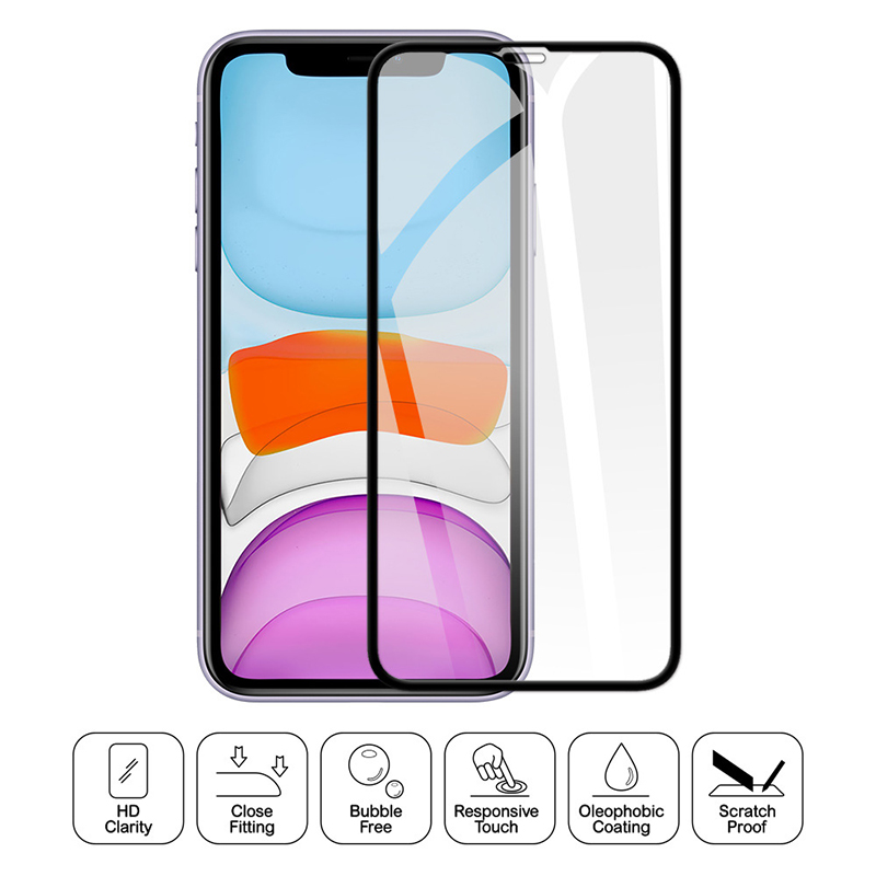 9H 2.5D Protective Glass For IPhone 11 Pro Max XR X XS Max Tempered Glass For IPhone 11 Pro Max 5 6 7 8 Plus Screen Protector
