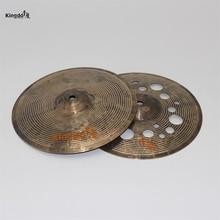 Kingdo B20 handmade Special cymbal 12hihat crash cymbals for drums