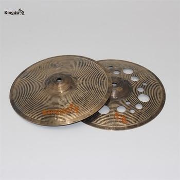 Kingdo B20 handmade Special cymbal 12hihat crash cymbals for drums musical instrument 16 crash cymbal
