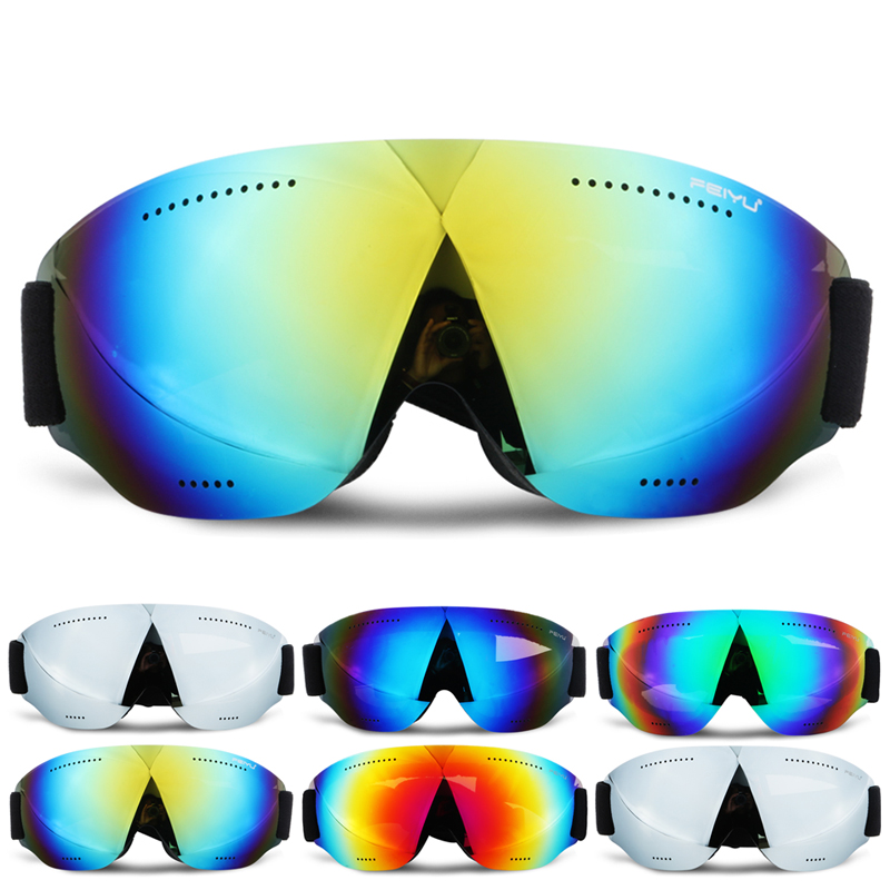 Winter Snowboard Ski Goggles Anti-fog UV Protection Glasses Windprood Outdoor Sports Hiking Off-road Riding Motorcycle Eyewear