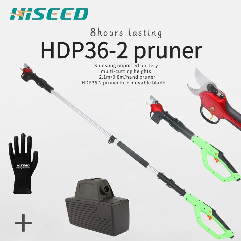 HDP36-2 Electric Pruner  Pruning Shears And Its Spare Parts, Battery, Cable/lead, Blades, Pruner Body And Limit Switch