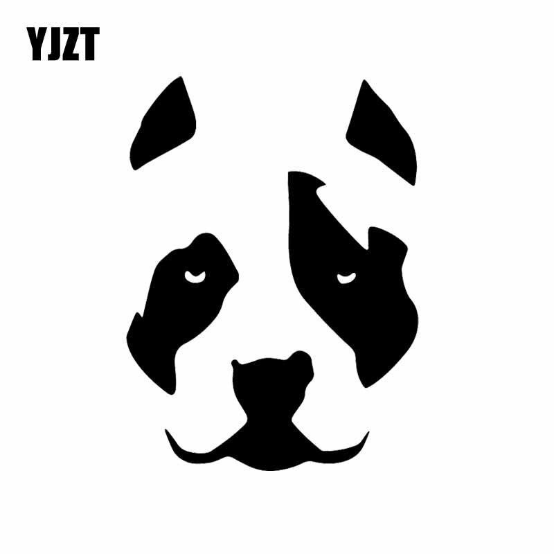YJZT 11.5X15.4CM креативные автомобильные стикеры собака питбуль уход за кожей лица защитный чехол для телефона мама защитный чехол для телефона п...