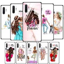 Anti Gores Phone Case untuk Samaung Galaxy A10S A20S A30 A40 A50 M30S SJ4 J6 PLUS Silikon EDGE Shell Bayi ibu Gadis Queen(China)