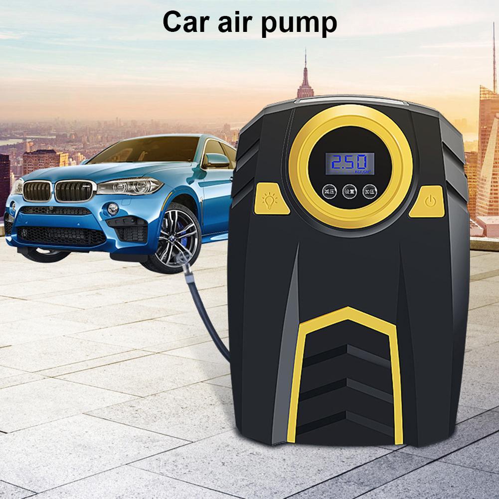 digital do pneu inflator bomba de ar compressor de ar portatil para carro bicicletas pneus de
