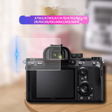 2 PCS 0.26 mm Clear Tempered Glass Screen Protector for Sony A7M2 A7M3 A7II A7III A7R2 RX100 M2 M3 M4 Digital Camera LCD Film(China)