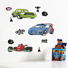 Disney Cars 20*30 cm Wall Stickers For Kids Rooms Bedrooms Home Decor Cartoon Wall Decals DIY Mural Art PVC Poster Boy's Gifts(China)