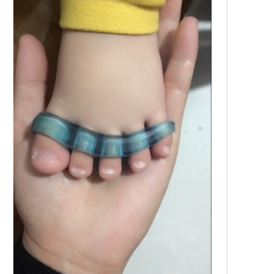 Infant Young CHILDREN'S Curved Toe Rectifier Toe Overlap Baby Abrasion-resistant Department Thumb Valgus Toe Separator