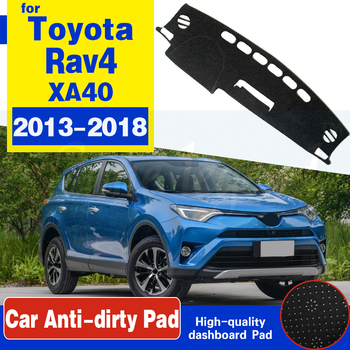 for Toyota Rav4 XA40 2013~2018 RAV 4 40 Anti-Slip Mat Dashboard Dash Cover Pad Sunshade Dashmat Accessories 2014 2015 2016 2017 image