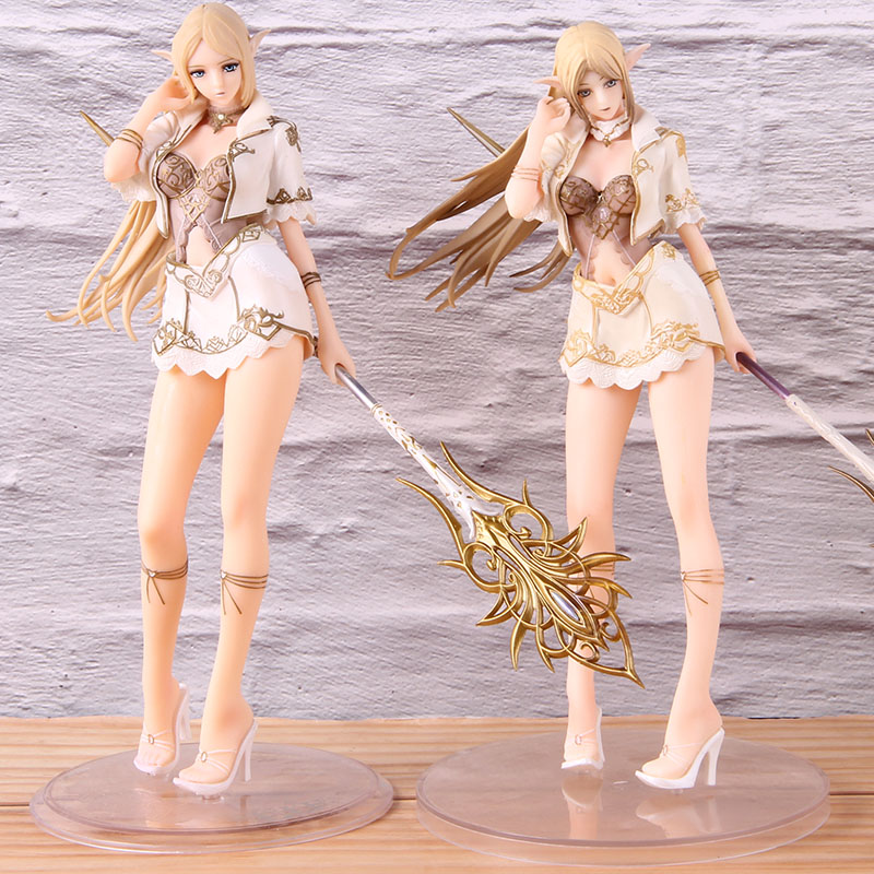 Legend Creation Elf Lineage 2 PVC Collectible Action Figure Hot Game Lineage II Model Toy Lineage2