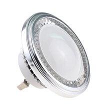 Бесплатная доставка светодиодный светильник с регулируемой яркостью AR111 G53 светодиодный светильник из алюминиевого сплава для внутреннего...