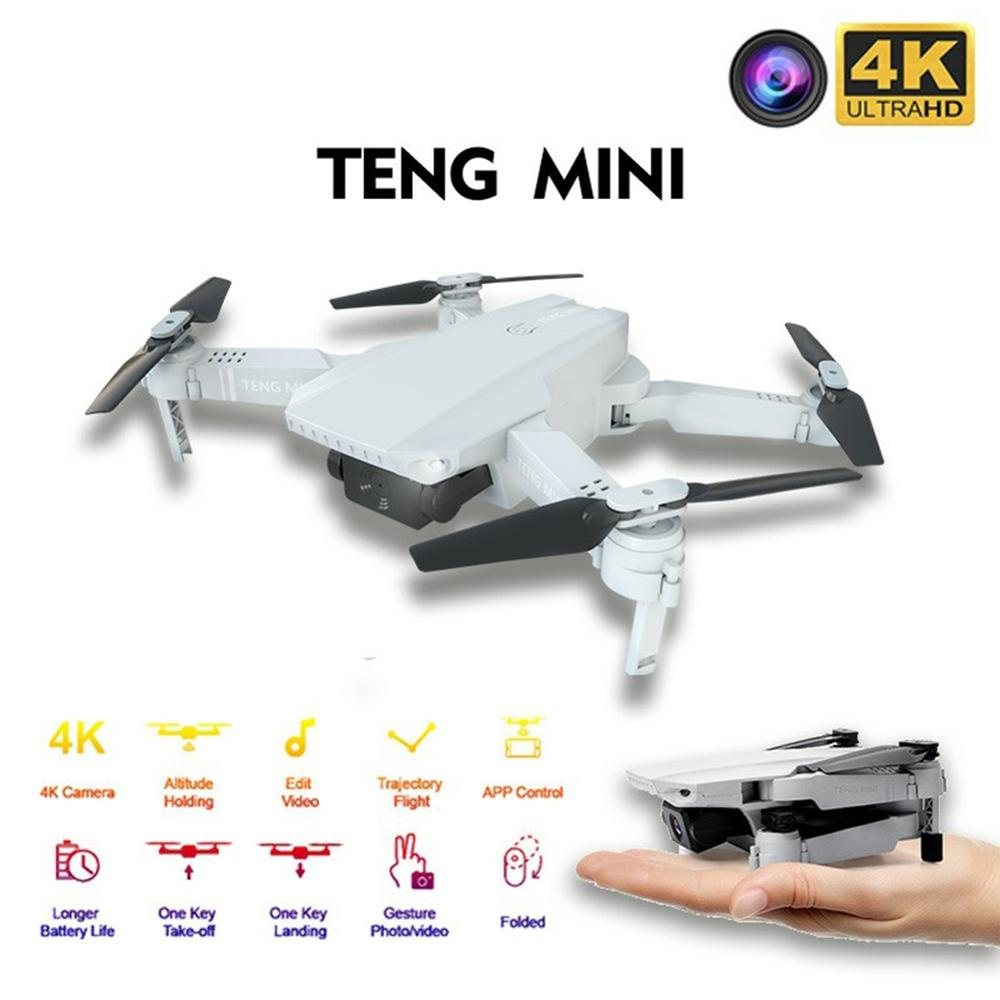 KF609 Drone HD 720P/4k WiFi Real-time Transmission Fpv Video Live Recording Dual Camera Height Keeping Drone with Camera