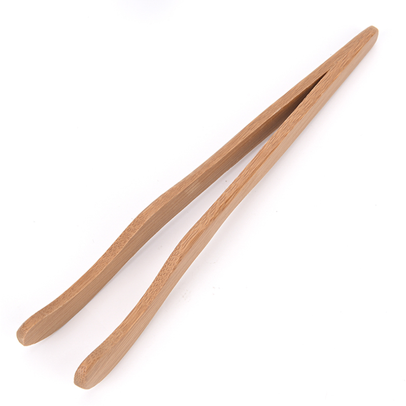 Bamboo Tea Clips Chinese Tea Tool Pu'er Kung Fu Flower Tea Wood Clip Accessories