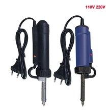 110v 220v Electric Tin Suction Device Portable Automatic Tin Electric Vacuum Solder Sucker Desoldering Pumps Solder Repair Tools