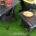 Уличная Складная Настольная корзина для хранения, подвесная сумка для хранения пикника, невидимый Карманный водонепроницаемый стол для ке...