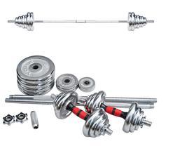50kg Hantel Set Hantel Hantel Dual-Set männer Gewicht Heben Überzug Barbell Fitness Ausrüstung