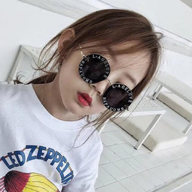 2020 Sunglasses Small Gold Bee Glasses Kids Sunglasses Boys Girls Glasses Kids Designer Round Sunglasses