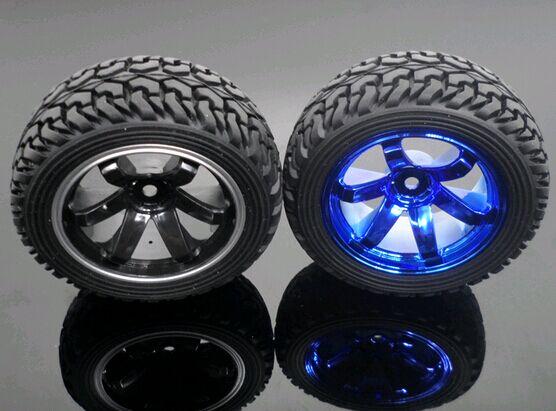 Rc modelo de brinquedo roda pneu borracha diy roda carro inteligente 75mm alta qualidade grande fricção robô roda + seis ângulo acoplamento