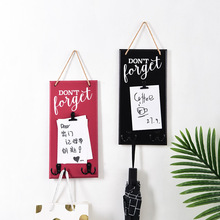 Creative Wooden Hanger Hook Vintage Hanging Hooks Bulletin Board Message Memo Board Key Holder Wall Mounted Hook Home Organizer wall mounted rotating sauna wooden hourglass white sand timer 15 minutes