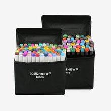 Touchnew 30/40/60/80 Цвет маркеры манга рисунок Маркеры Ручка