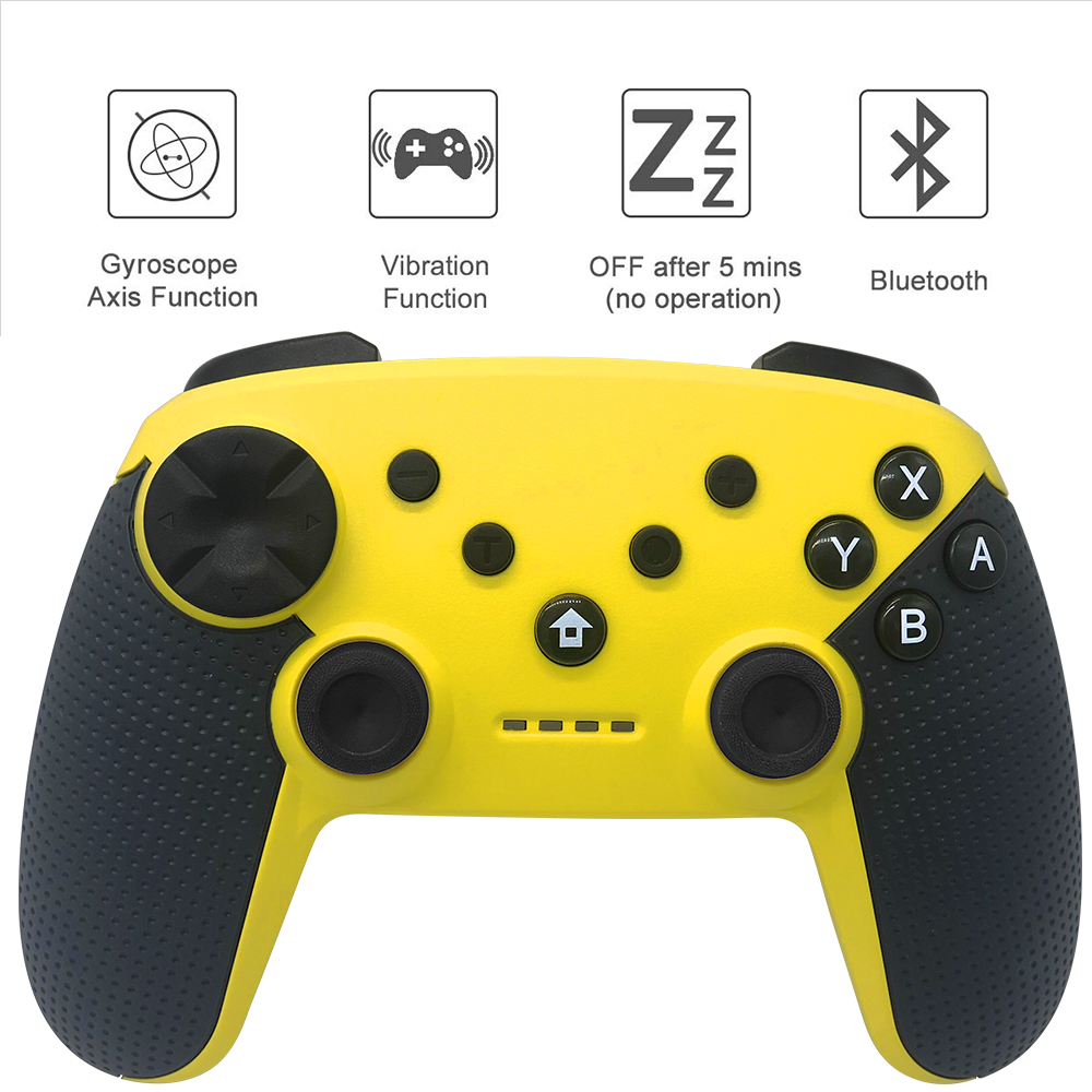 K ISHAKO New Style Gamepad Bluetooth Wireless Pro Joypad Remote for Nintend for Nintendo Switch Controller Real Game Experience