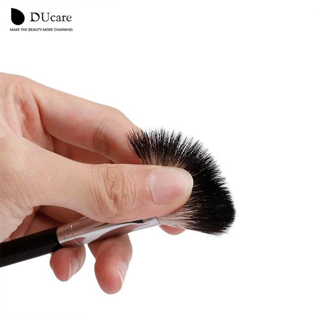 DUcare Makeup Brushes Goat Hair highlighter Brush Cosmetic Powder Blending Makeup brushes Eyebrow Eyeshadow Brush Makeup Tools 4