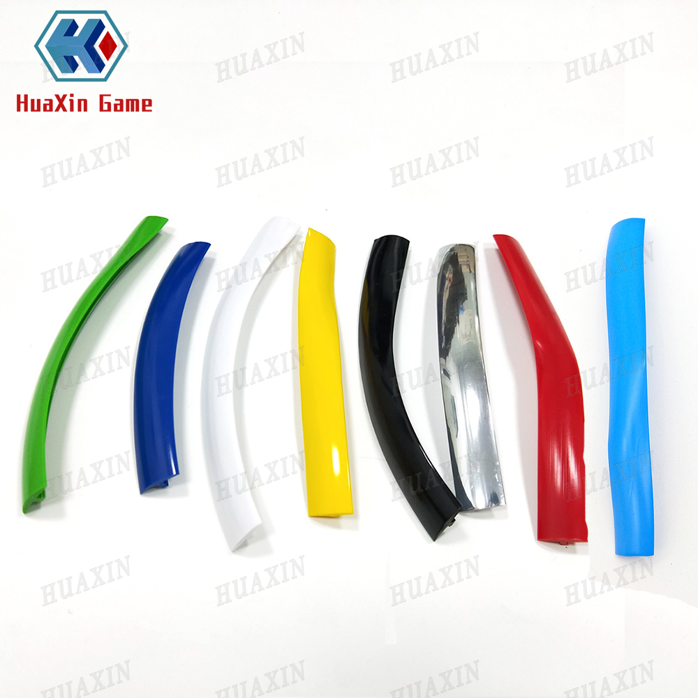 16.4ft 5m Length 16mm /19mm Width Plastic T-Molding T Moulding For Arcade MAME Game Machine Cabinet Chrome/black