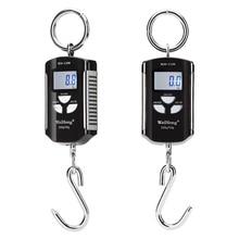 200kg/100g Mini Hanging Crane Scale Digital Heavy Duty scale Industrial Hook Scale Electronic Weighing Balance kg, lb, jin Unit