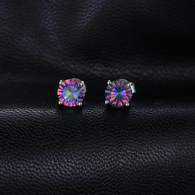 Mystic Topaz Stud Earrings