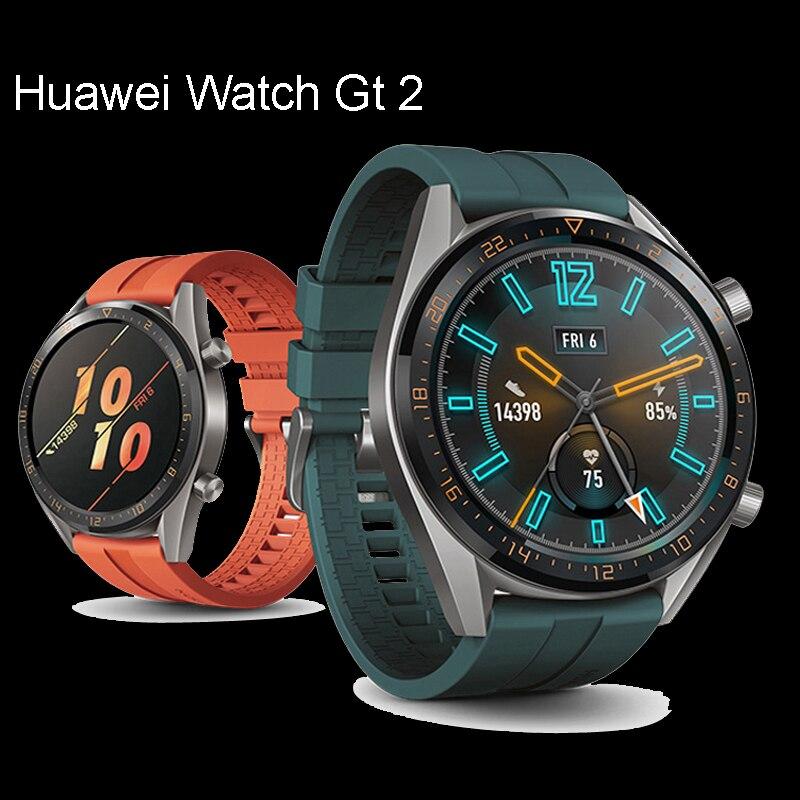 Huawei Watch Gt 2 Strap For Huawei Watch Gt2 42mm 46mm Silicone Smart Watchband Wrist Bracelet 22mm Watch Band Watch Gt Strap 40