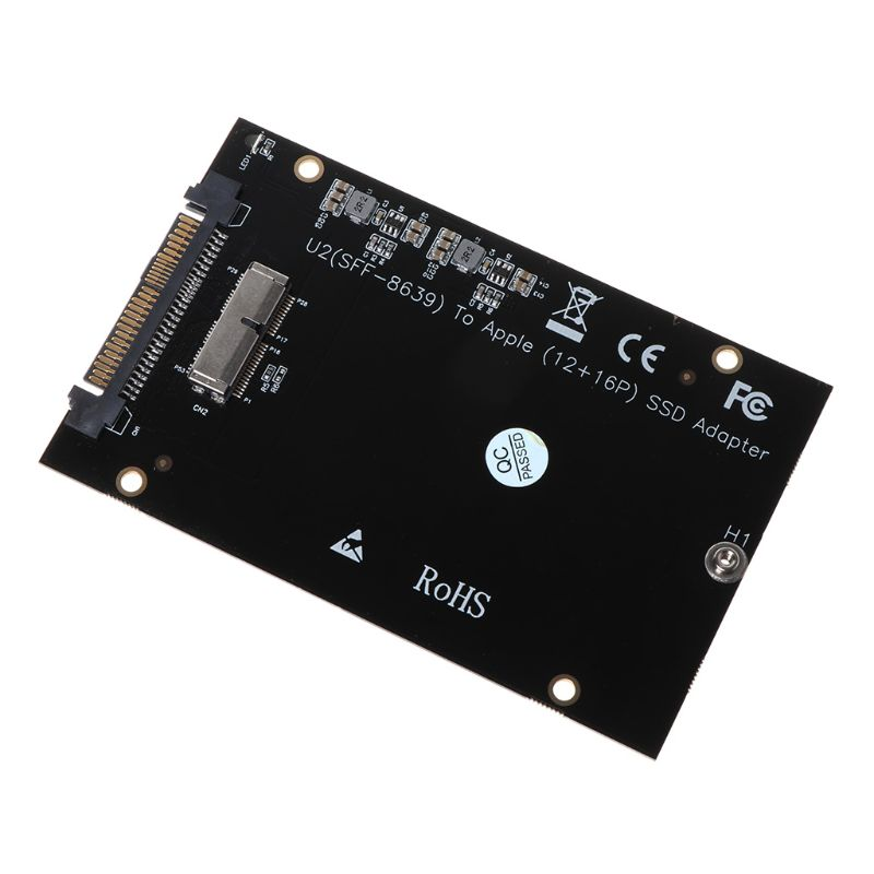<font><b>M2</b></font> SSD <font><b>Adapter</b></font> SSD <font><b>M2</b></font> Converter for SSD Drive SFF-8639 U.2 <font><b>Adapter</b></font> Card Kit for <font><b>MacBook</b></font> Air Pro Retina 2013 2014 2015 image