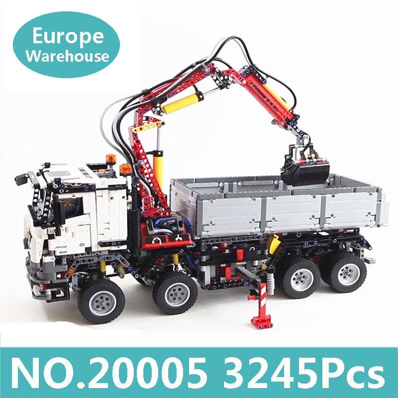 König Ziegel Lepinblocks 20005 20004 Mobile Kran Mk II Cargo Truck Technik Auto Bausteine Set 42043 Spielzeug Für Kinder geschenk-in Sperren aus Spielzeug und Hobbys bei  Gruppe 1