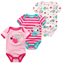 12-Meses Bodysuits Ubranka Bebes Newborn Toddler Infantil Baby-Girl 6-9 Boy 3 Roupa Costume