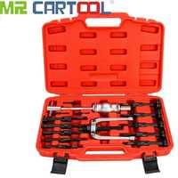 MR CARTOOL 16Pcs Inner Bearing Races Blind Hole Gear Bushes Extractor Puller Separator Set