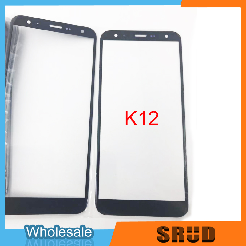 10Pcs Cracked Front Outer Screen Glass Lens Replacement For LG K40 K12+ K12 Plus <font><b>K12Plus</b></font> X4 2019 LMX420EMW image