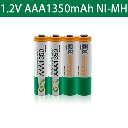 2021 1350mah Ni-MH AAA Batteries 1.2V Rechargeable Battery NI-MH Battery for Camera,Toys Led Flashlight Torch