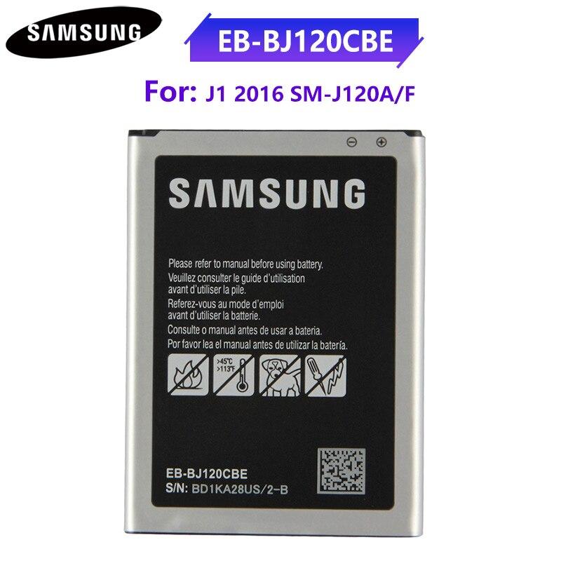 Оригинальный аккумулятор EB BJ120CBU EB BJ120BBE для Samsung Galaxy Express 3 2016 Edition J1 EB BJ120CBE SM J120A 2050 мАч Аккумуляторы для мобильных телефонов      АлиЭкспресс