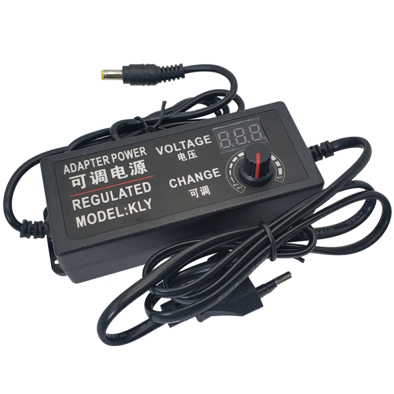 <font><b>AC</b></font> to <font><b>DC</b></font> Universal power adapter Adjustable 3V-12V 3V-24V 9V-24V display screen voltage Regulated supply adatpor <font><b>3</b></font> 12 24 <font><b>v</b></font> image