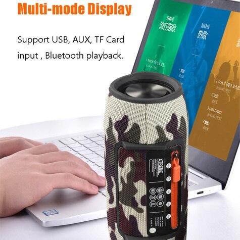40W Outdoor Bluetooth Speakers Subwoofer TWS boombox