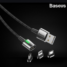 Baseus Magnetic USB Type C Cable for iPhone Samsung Cable Charger Fast Charging Micro USB Cable for xiaomi redmi note Huawei