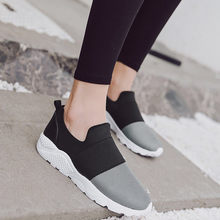Fashion Women Sneakers Running Shoes Outdoor Sports Shoes Breathable Mesh Comfort Running Shoes Air Cushion Slip On Sneakers#G4(China)