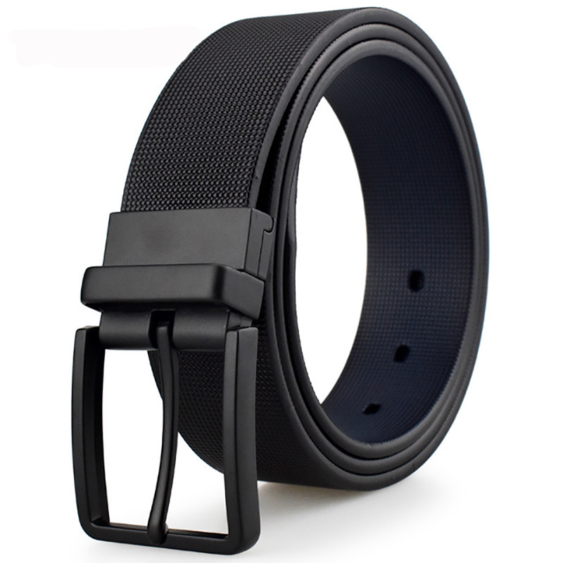 Luxury Brand Male Genuine Leather Strap   Belts   For Men Business Cowskin   Belts   With Box BT-70104