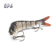 ODS 14 см 30 г тонущие рыболовные приманки, наживки, соединенные кренкбейт Swimbait 8 сегментов жесткая искусственная приманка для рыболовных снастей
