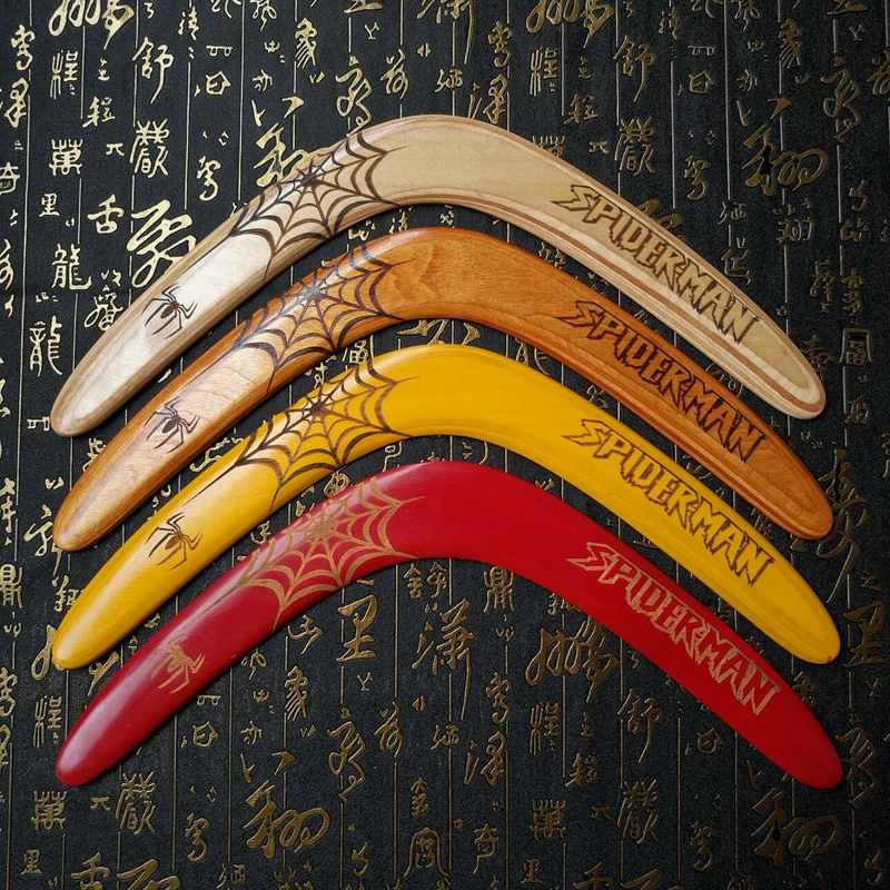 Professional Wooden Boomerang Professionally Designed Sports Boomerang With Excellent Flight Performance, Suitable For Novices
