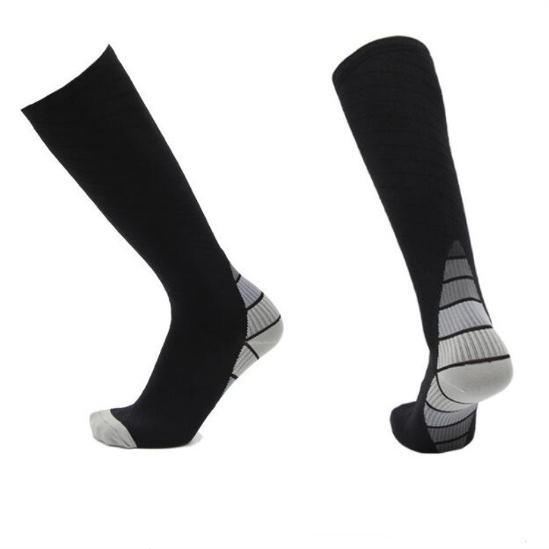 Sports Socks Marathon Cycling Socks Long Compression Breathable Basketball Football Pain Relief Unisex Sport Running Socks